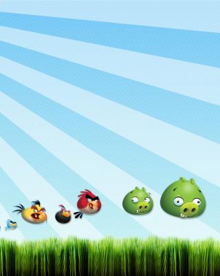 Angry Birds Bad Pigs - Obrázkek zdarma pro 320x480