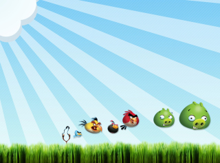 Angry Birds Bad Pigs - Obrázkek zdarma pro Android 1280x960