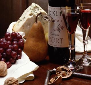 Red Wine - Obrázkek zdarma pro 208x208