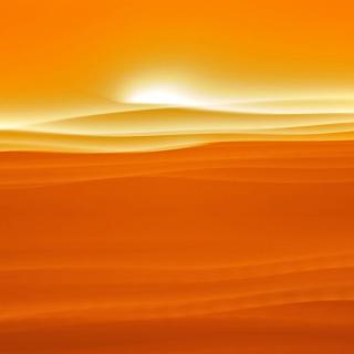 Orange Sky and Desert - Obrázkek zdarma pro iPad 2