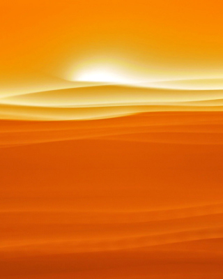 Orange Sky and Desert - Obrázkek zdarma pro iPhone 6 Plus