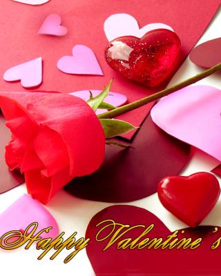 Happy Valentines - Obrázkek zdarma pro iPhone 5S