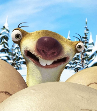 Sid From Ice Age - Obrázkek zdarma pro Nokia Asha 202
