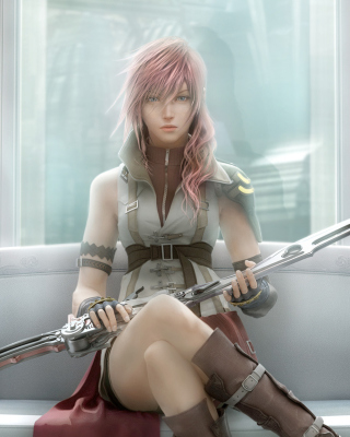 Final Fantasy Xiii - Obrázkek zdarma pro Nokia 300 Asha