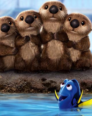 Finding Dory 3D Film with Beavers - Obrázkek zdarma pro iPhone 6 Plus