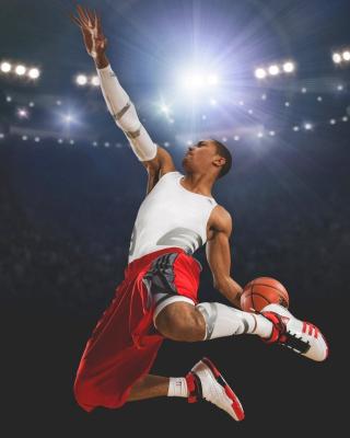 Derrick Rose - Obrázkek zdarma pro 640x1136