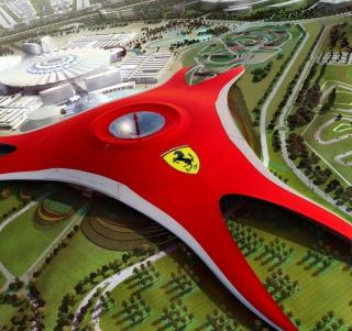 Ferrari World Abu Dhabi - Dubai - Obrázkek zdarma pro 320x320