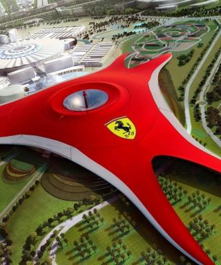 Ferrari World Abu Dhabi - Dubai - Obrázkek zdarma pro Nokia C6