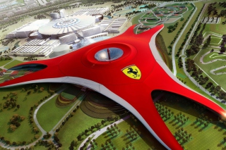 Ferrari World Abu Dhabi - Dubai - Obrázkek zdarma pro Fullscreen Desktop 800x600