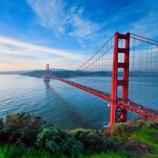 San Francisco, Golden gate bridge - Obrázkek zdarma pro iPad mini 2