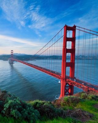 San Francisco, Golden gate bridge - Obrázkek zdarma pro iPhone 5C