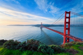 San Francisco, Golden gate bridge Background for Android, iPhone and iPad