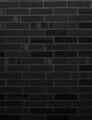 Black Brick Wall - Obrázkek zdarma pro 132x176