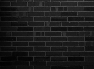 Black Brick Wall - Obrázkek zdarma pro 960x800