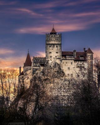Bran Castle in Romania - Obrázkek zdarma pro iPhone 5