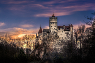 Bran Castle in Romania - Obrázkek zdarma pro Samsung Galaxy Tab 4 8.0
