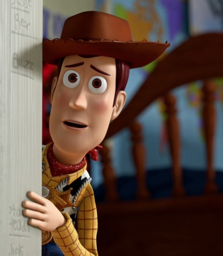 Toy Story - Woody - Obrázkek zdarma pro 128x160