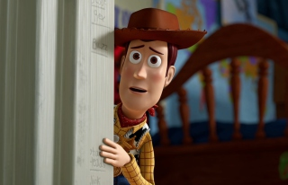 Toy Story - Woody - Obrázkek zdarma pro Samsung I9080 Galaxy Grand