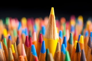 Colored pencils Background for Android, iPhone and iPad