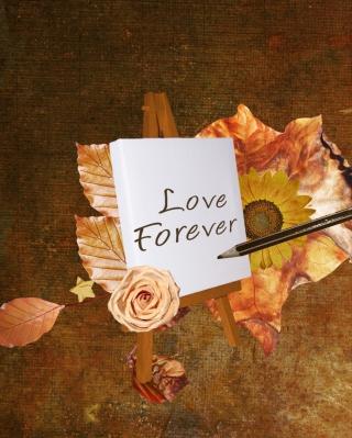 Love Forever - Obrázkek zdarma pro iPhone 5S