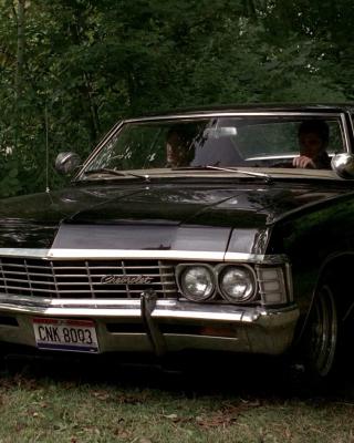 1967 Chevrolet Impala - Obrázkek zdarma pro 480x640