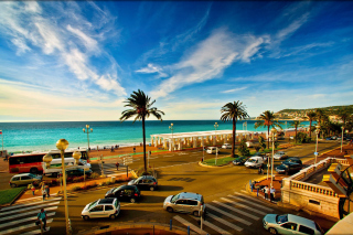 Free Nice, French Riviera Beach Picture for Android, iPhone and iPad