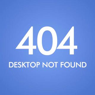 404 Desktop Not Found - Obrázkek zdarma pro iPad 2