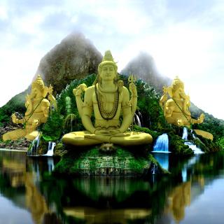 Buddhist Temple - Obrázkek zdarma pro iPad 3