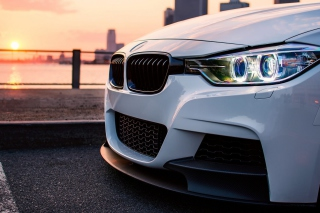 BMW F30 335i Background for Android, iPhone and iPad