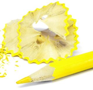 Bright Yellow Pencil - Obrázkek zdarma pro iPad