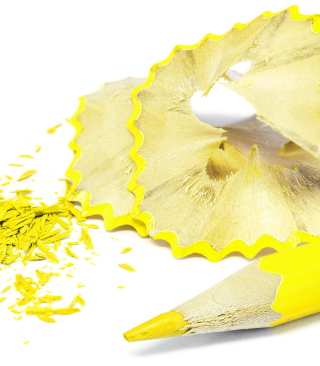 Bright Yellow Pencil - Obrázkek zdarma pro 320x480