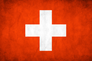 Switzerland Grunge Flag - Obrázkek zdarma pro 1280x800