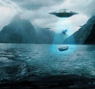 Alien Abduction - Obrázkek zdarma pro iPad 2