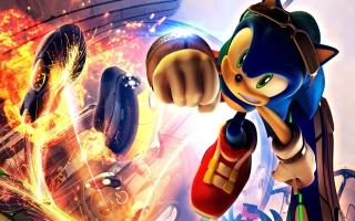 Super Sonic - Obrázkek zdarma pro Nokia Asha 205