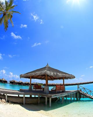 Luxury Bungalows in Maldives Resort - Obrázkek zdarma pro Nokia C2-02