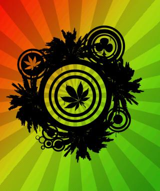 Marijuana - Obrázkek zdarma pro iPhone 5S