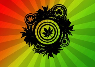 Marijuana - Obrázkek zdarma pro 1366x768