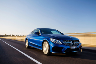 Mercedes Benz C Class Coupe W205 Wallpaper for Android, iPhone and iPad