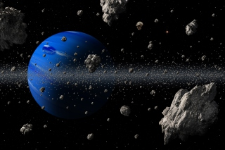 Blue Planet - Obrázkek zdarma pro 1024x768