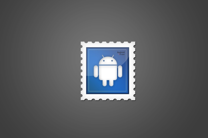 Android Postage Stamp wallpaper