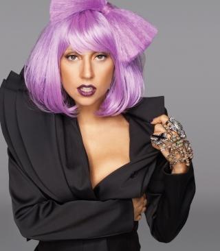 Lady Gaga Crazy Style - Obrázkek zdarma pro iPhone 5S