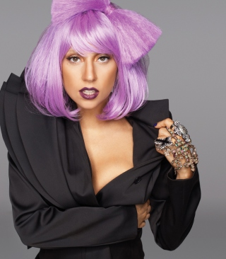 Lady Gaga Crazy Style - Obrázkek zdarma pro 240x432