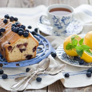 Blueberry Cake - Obrázkek zdarma pro 1024x1024