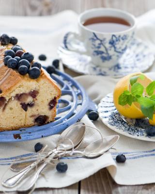 Blueberry Cake - Obrázkek zdarma pro Nokia Asha 308