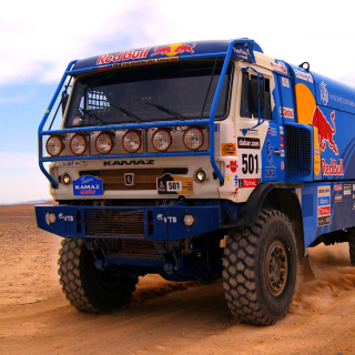 Kamaz Dakar Rally Car - Obrázkek zdarma pro iPad 2