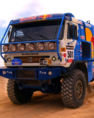 Kamaz Dakar Rally Car - Obrázkek zdarma pro Nokia C3-01 Gold Edition