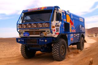 Kamaz Dakar Rally Car - Obrázkek zdarma pro Android 600x1024