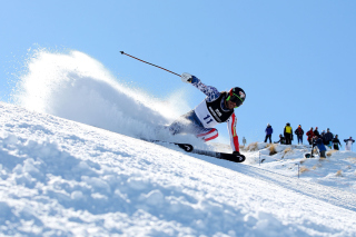 Skiing In Sochi Winter Olympics Picture for Android, iPhone and iPad