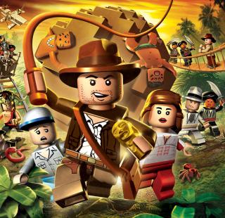 Lego Indiana Jones - Obrázkek zdarma pro iPad 3