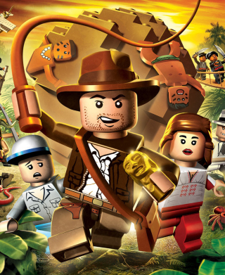 Lego Indiana Jones - Obrázkek zdarma pro Nokia Asha 305